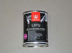 """Краска для школьных досок чёрная """"LIITU"""""""