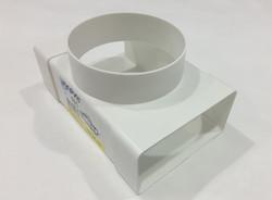 Тройник для вентиляции пластиковый