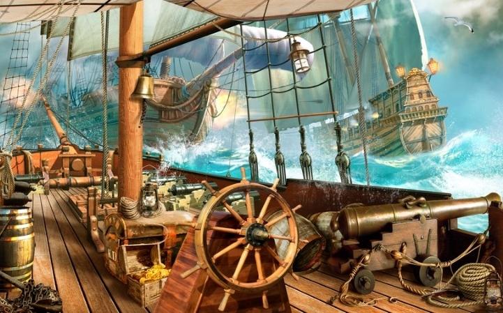 На борту пиратского корабля