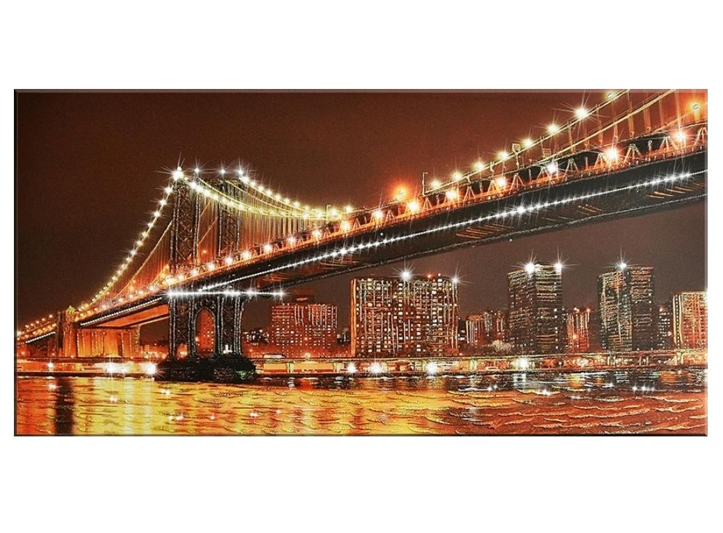 """картина """"Бруклинский мост"""""""