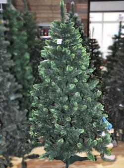 Ель, 180 см, 323 ветки, зелёный со светло-зелёным