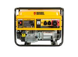 """""""DENZEL GE 8900"""", генератор бензиновый 8,5 кВт"""