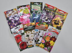 Цветы садовые, семена