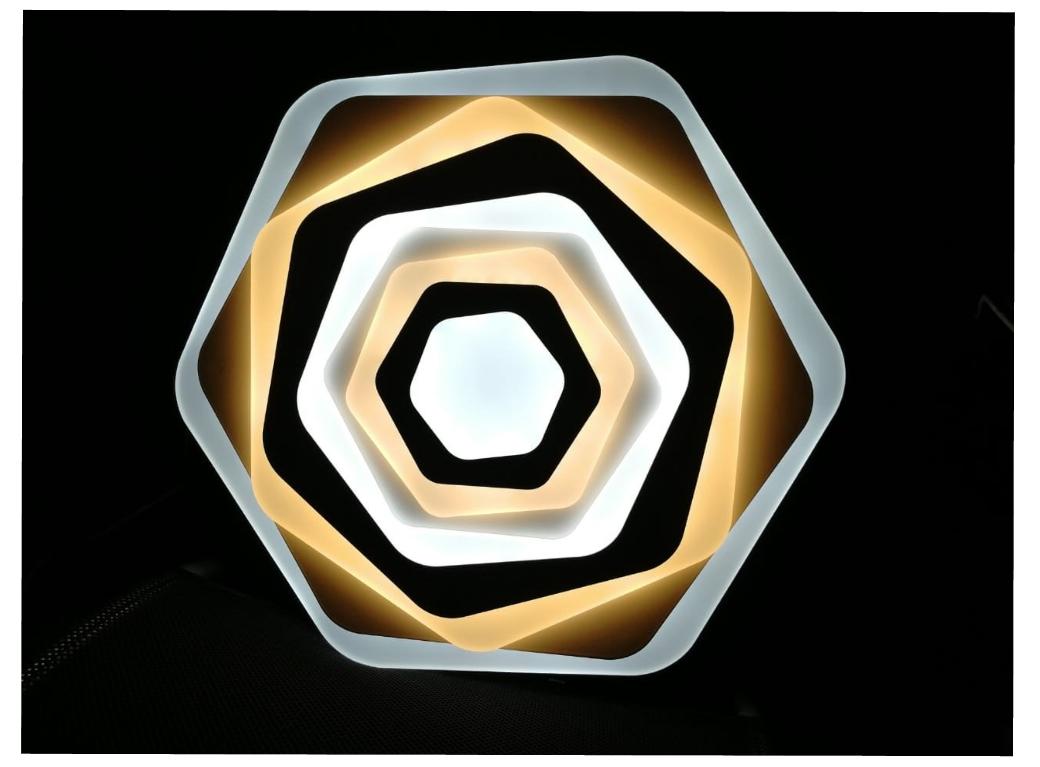 светодиодная люстра Geometria Sota