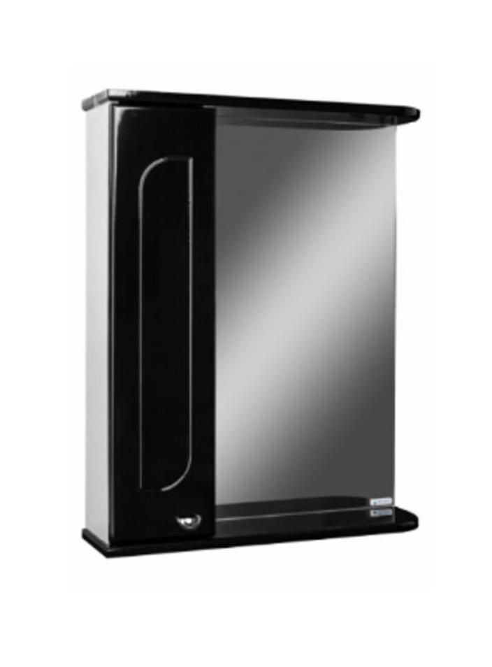 Шкаф-зеркало, радуга черный