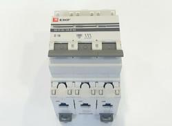 Выключатель автомат. EKF 47-63 3п.