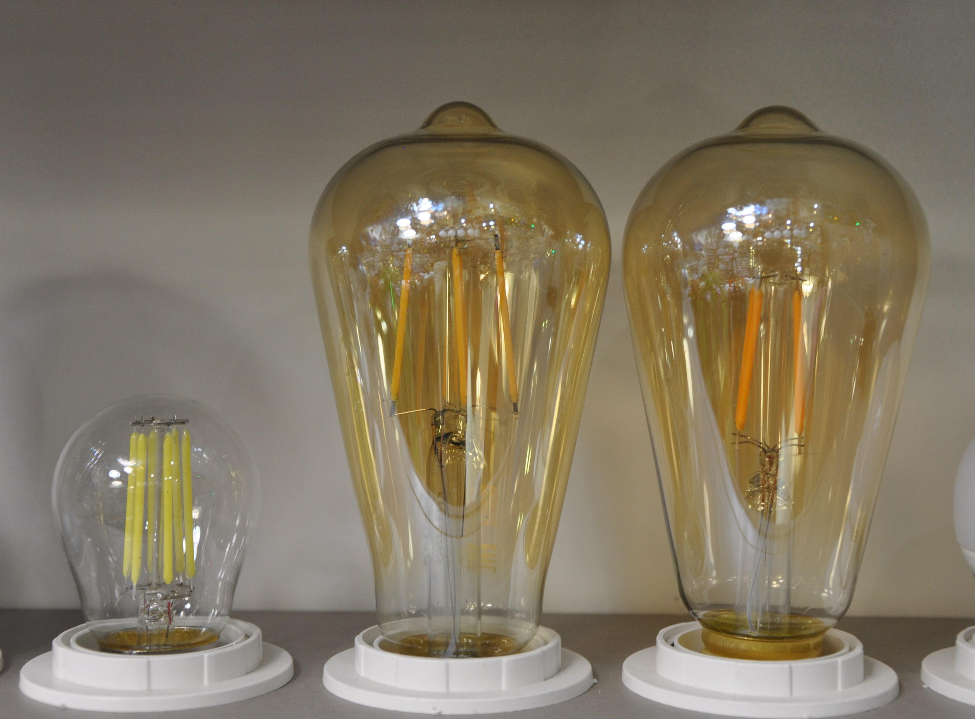 Лампы светодиодные винтажные
