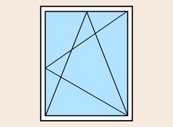 Окно пластиковое поворотно-откидное