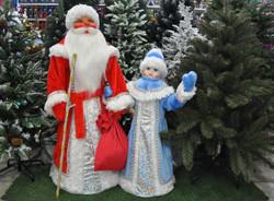 фигуры Дед Мороз и Снегурочка