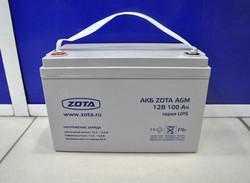Аккумуляторная батарея ZOTA AGM