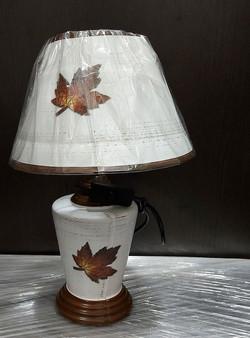 "Лампа настольная ""Кленовый лист"", 25*25*37 см"