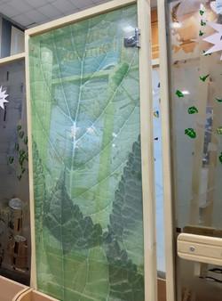 """Дверь """"Листья зелени"""" 1890*690"""
