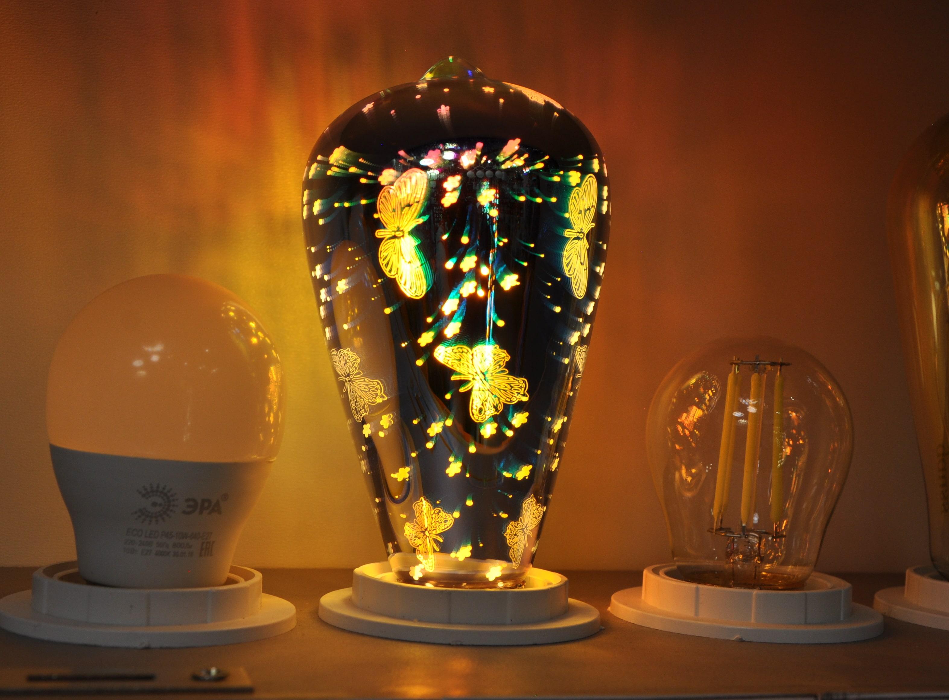 Лампа GAUSS 3D-Butterfly