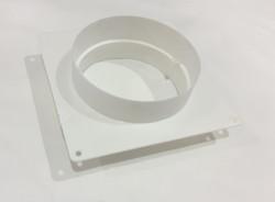 Флянец для вентиляции пластиковый