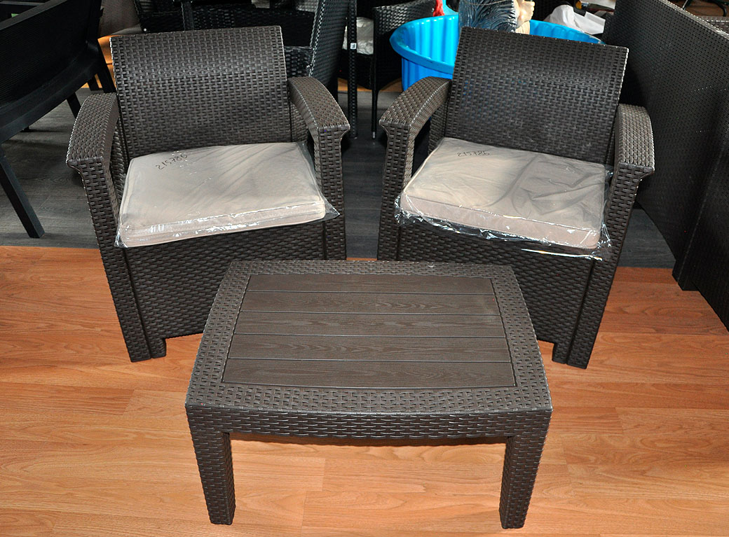 Комплект мебели Rattan Comfort 3, 2019 венге.