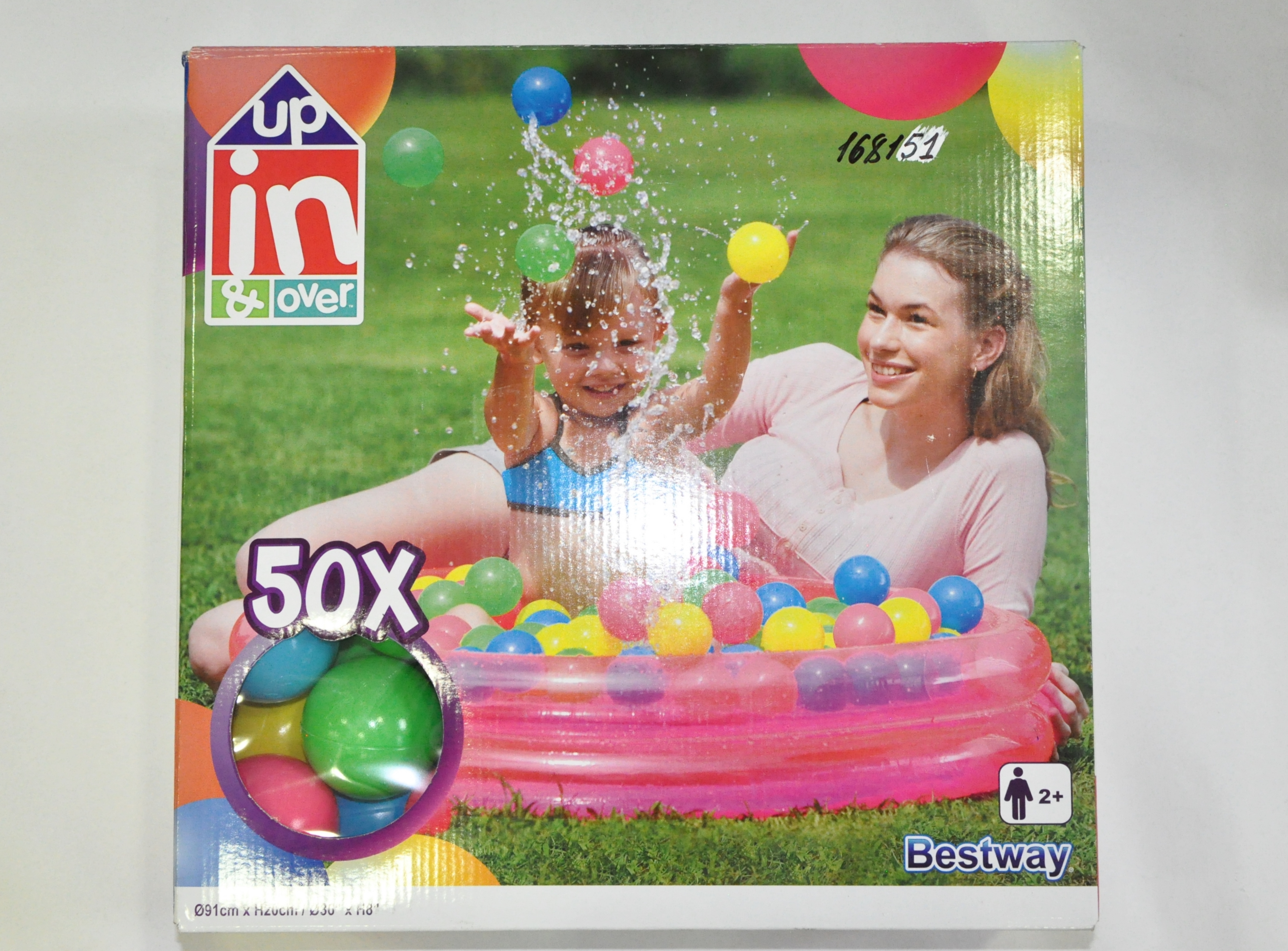 Бассейн детский 91*20 + 50 шариков