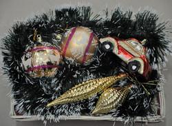 Стеклянные шары, ручная роспись