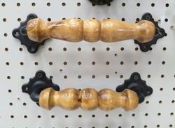 ручка деревянная фигурная