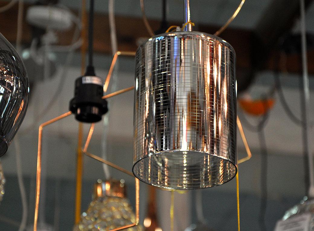 Светильник подвесной 170/1CR WT+CL