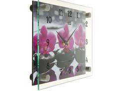 часы настенные орхидея