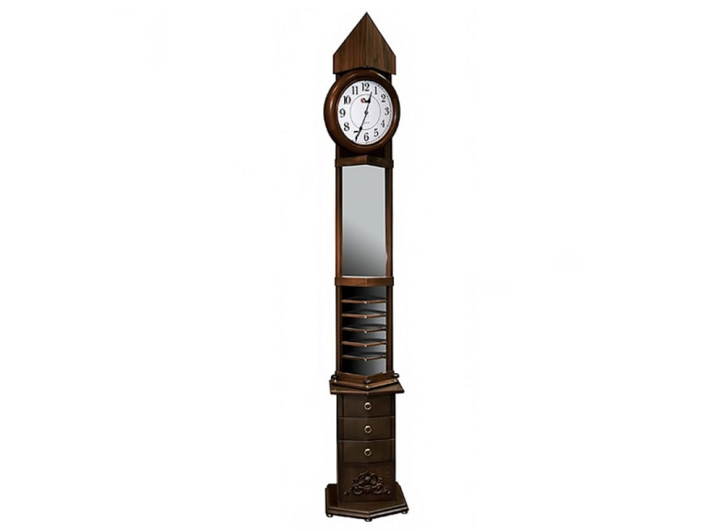 часы деревянные напольные