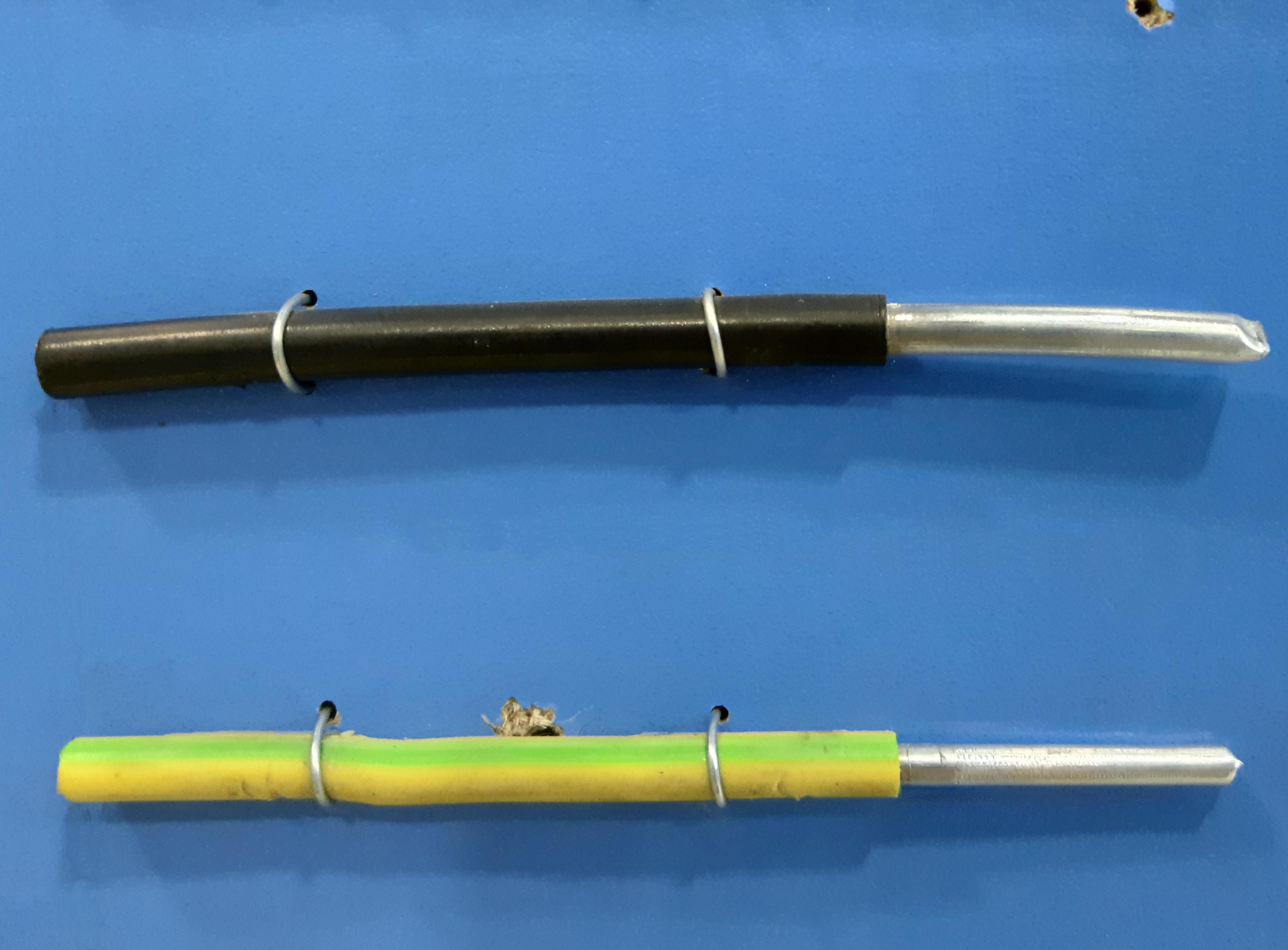 провод алюминиевый одножильный