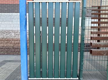 штакетник металлический центр сом