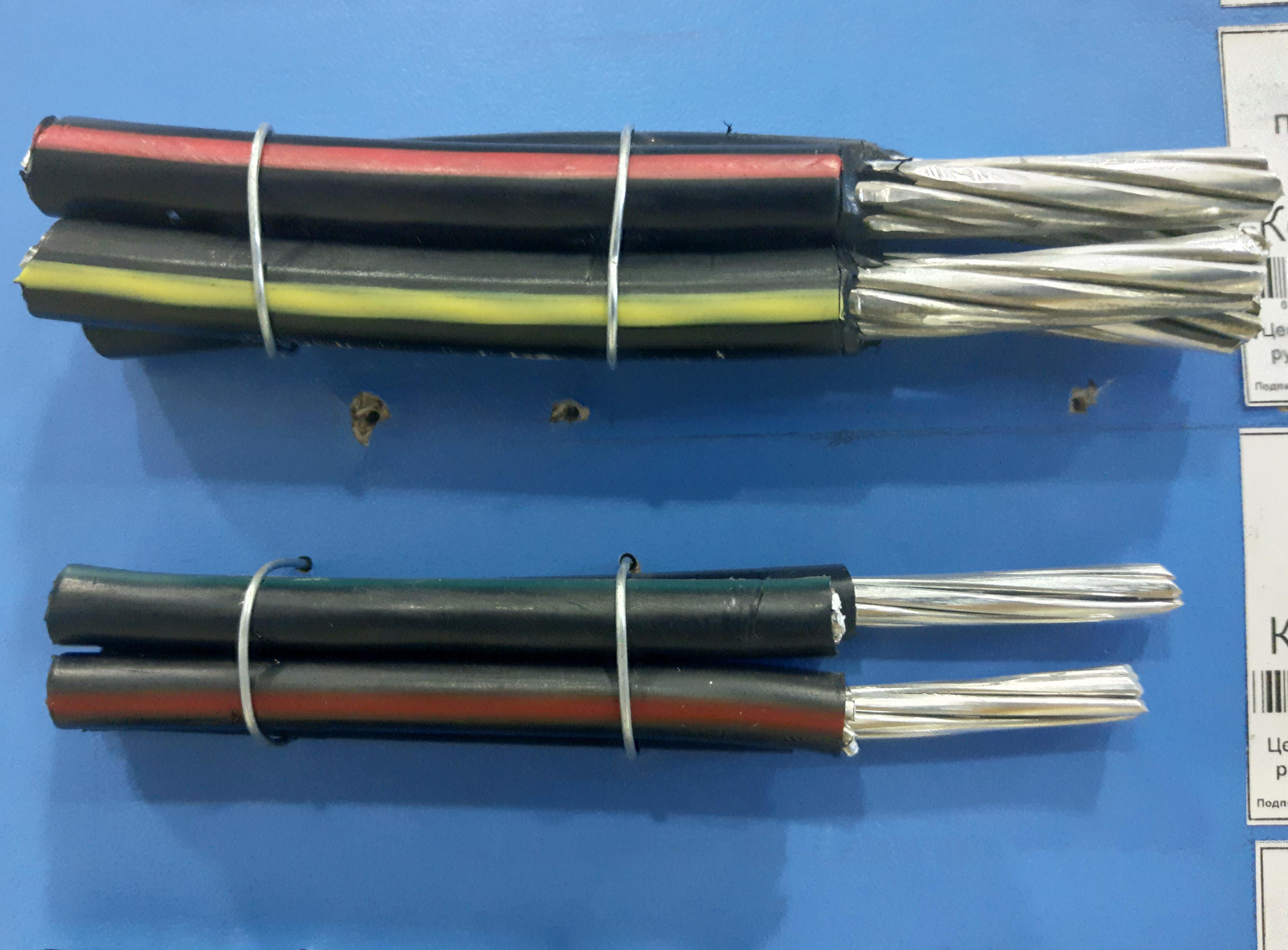 кабель СИП алюминиевый