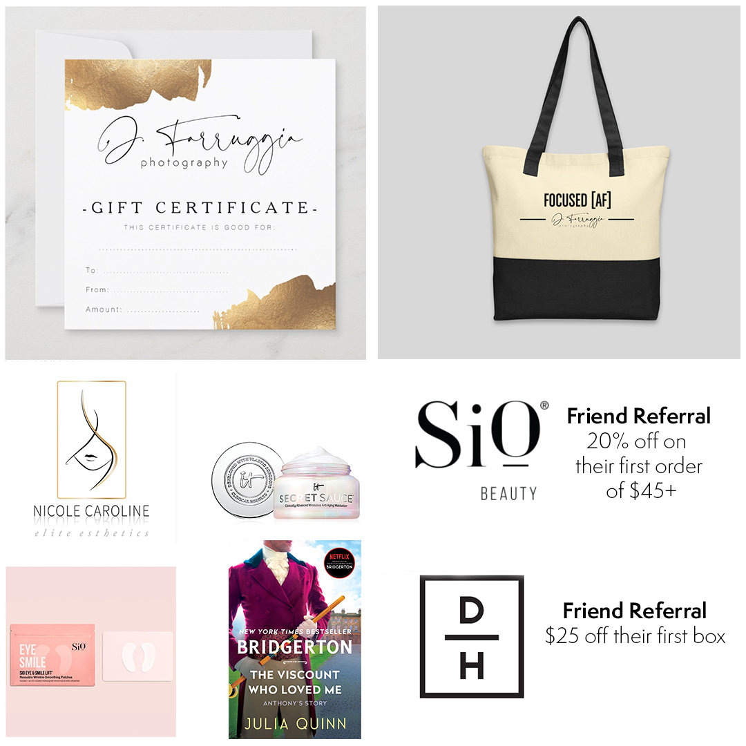 Mother's Day Gift Card Swag Bag