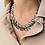 Thumbnail: Collier en métal argenté