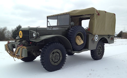 1942 Dodge WC52 Weapons Carrier