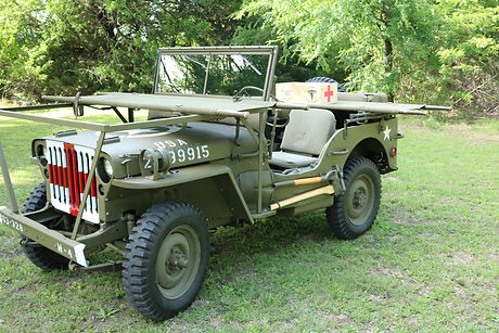 WWII Medic Jeep