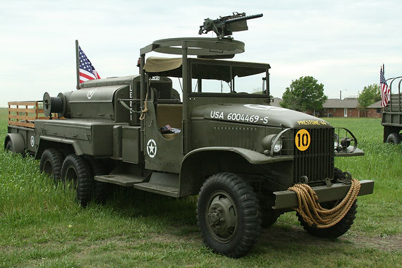 1943 GMC Compressor Truck