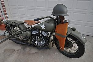 Harley WLA Motorcycle