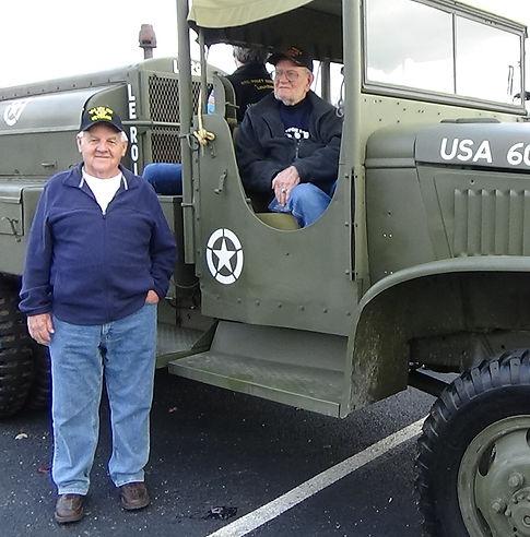 Branson Parade Veterans in CCKW