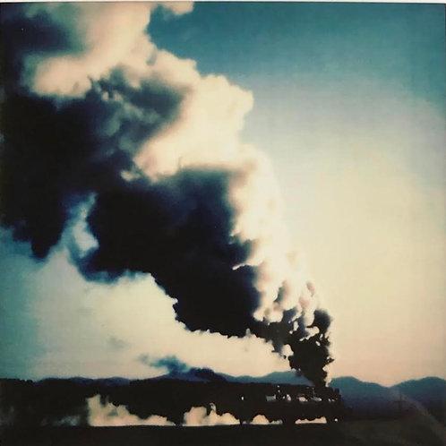 Andrea Haenni -  Lokomotive Polaroid SX-70 Scan auf Papier 30x30/40x40