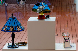 3 pieces glass art (002)