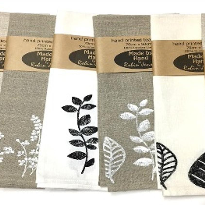 Printed Linen Workshop with Robin Jensen