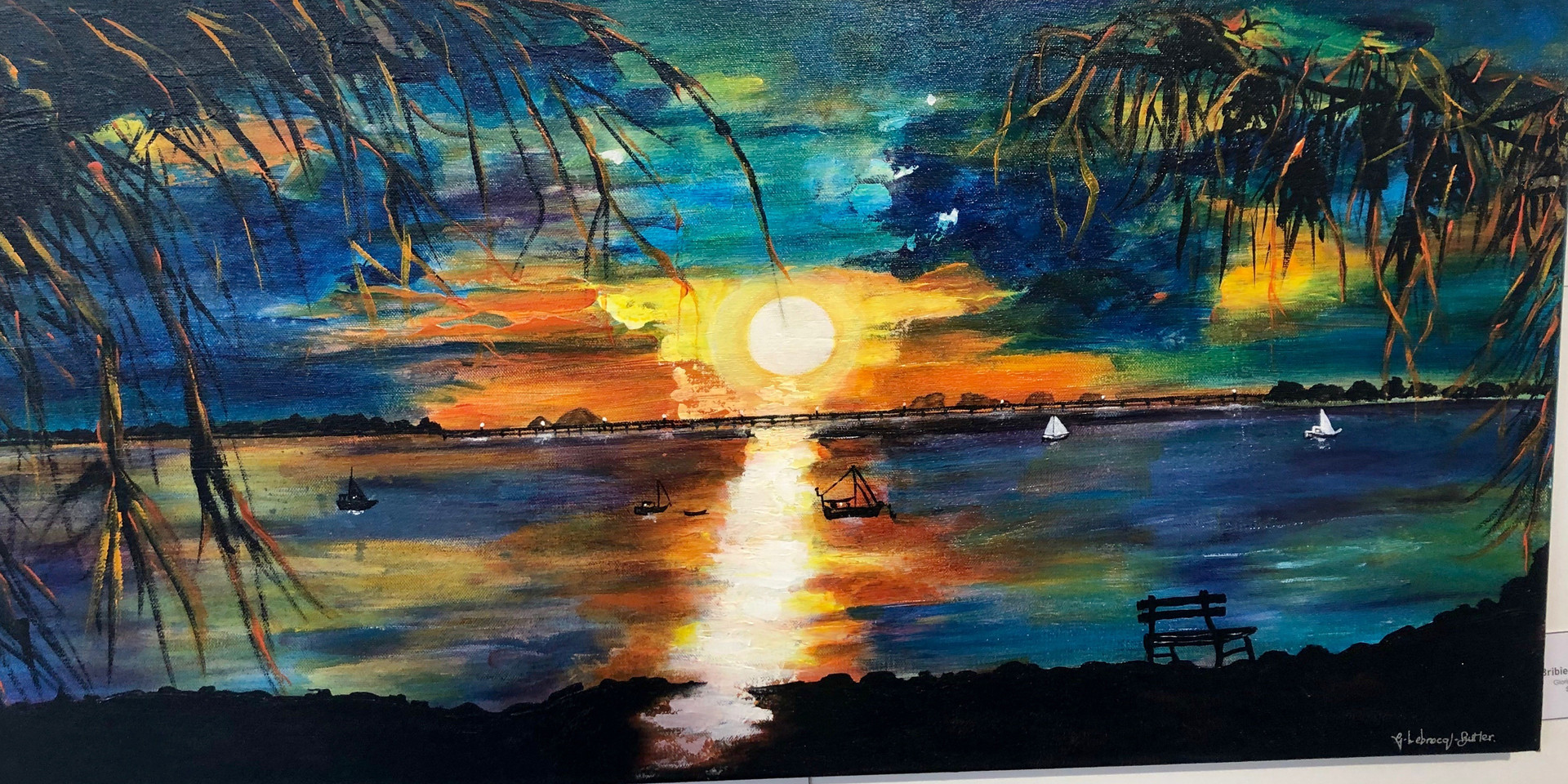 Bribie sunset painting.jpg