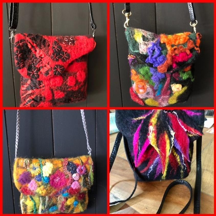 Felted Bag Workshop with Gail Grunske