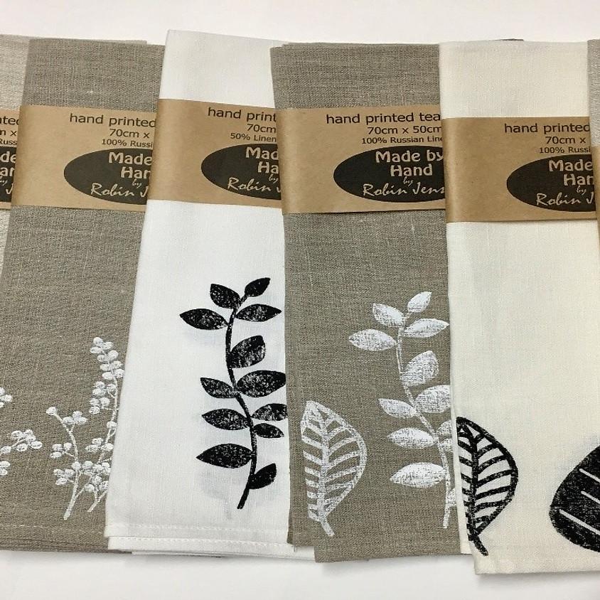 Printed Linen Workshop