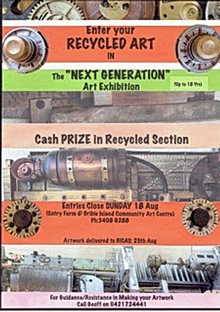Recycled section prize in Next Gen 2019.