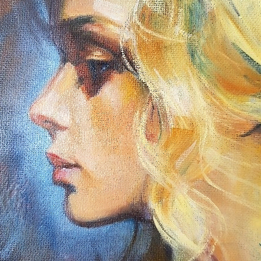 Pauline Adair - Learn to paint Portraits in oil in 3 hours - May