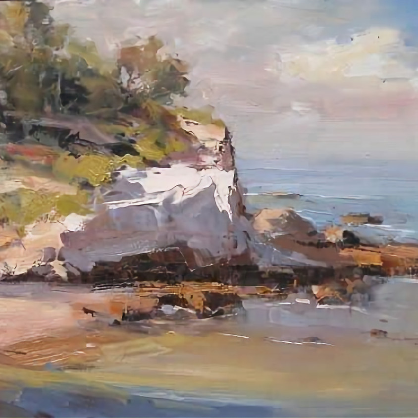 Join TODD WHISSON teaching the use of Spontaneous, Loose Palette Knife