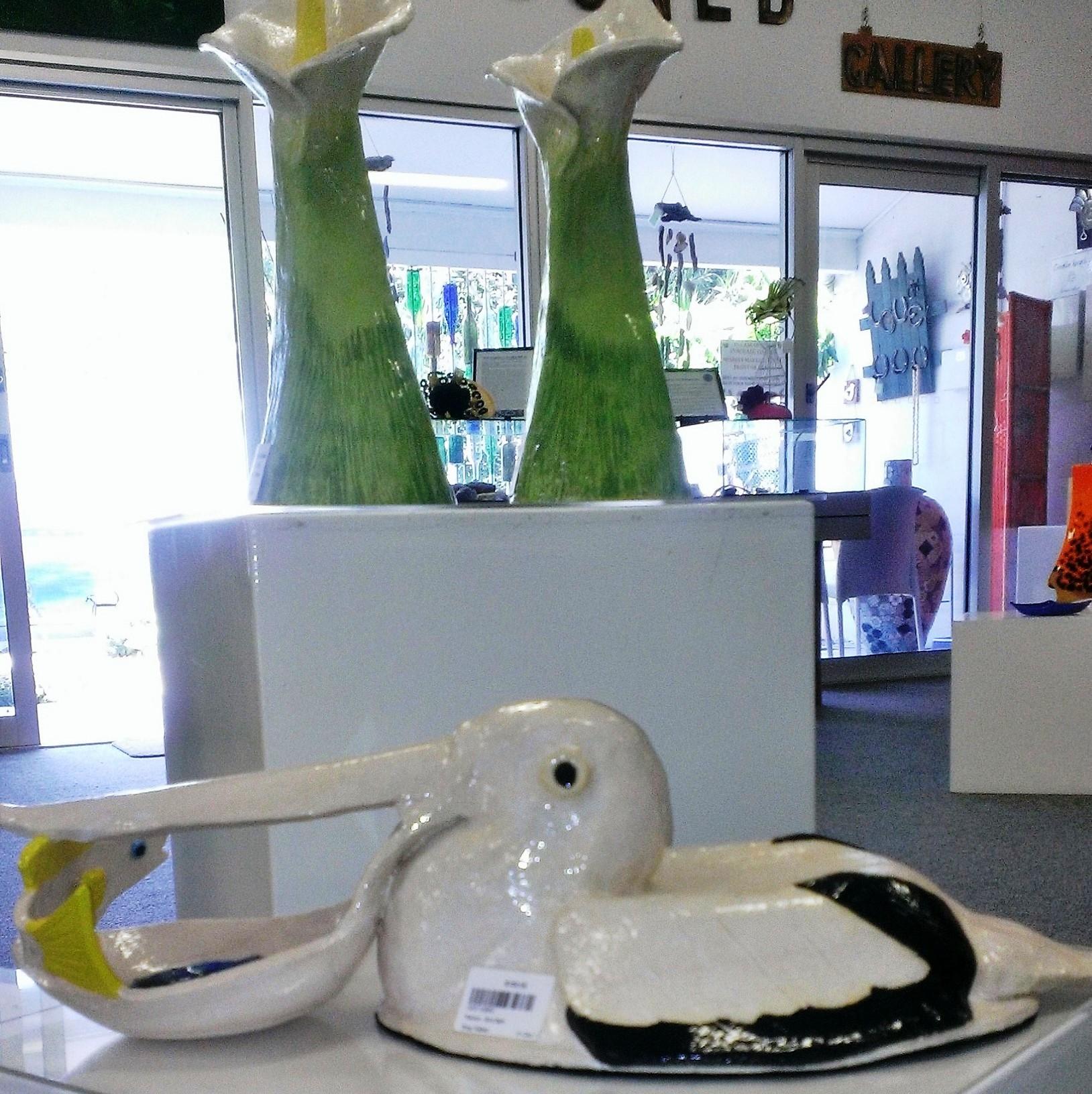 ceramic pelican