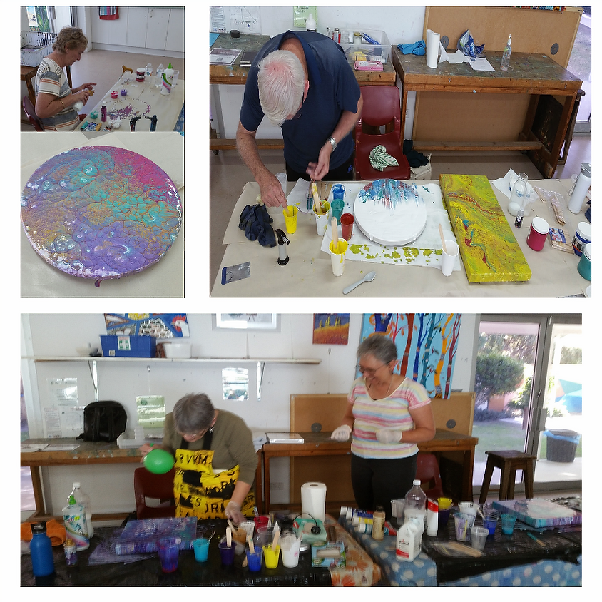 Acrylic Pouring Workshop!