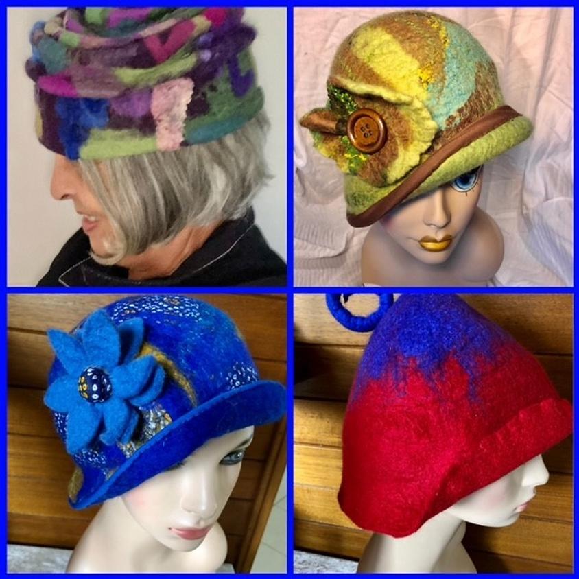 Wool Felted Hat - Workshop with Gail Grunske