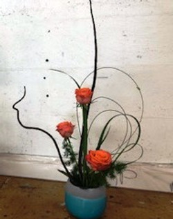 My work with roses