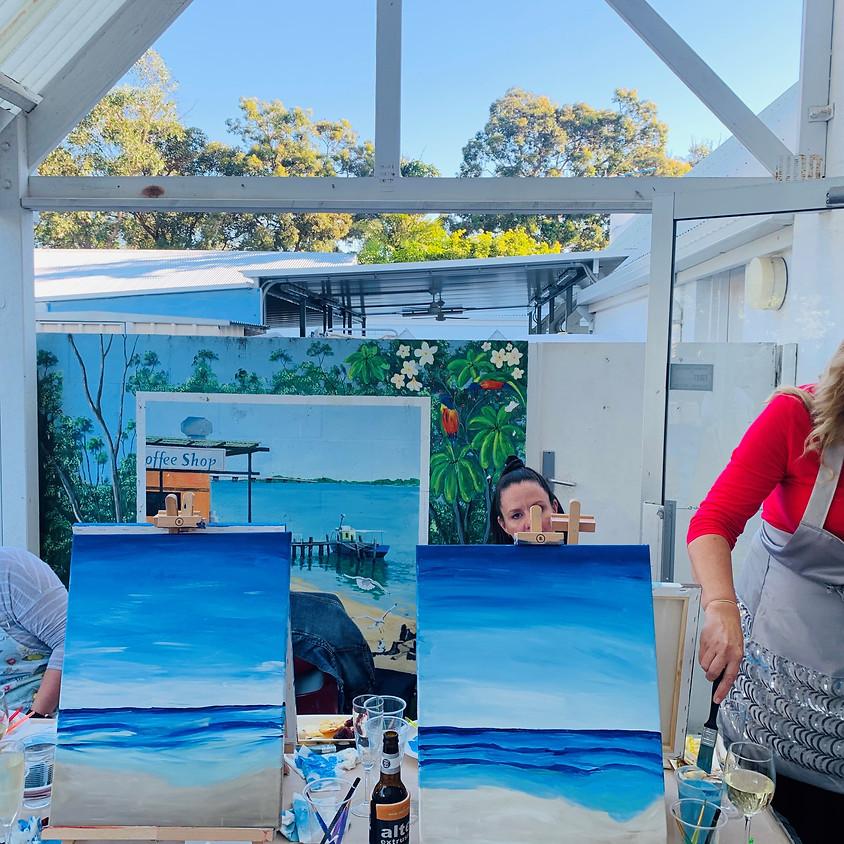 Paint n Sip Bribie Island