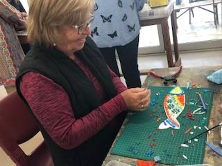 Mosaic worker 2